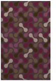 rug #692713 |  purple retro rug