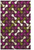 rug #692717 |  purple circles rug