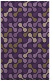 rug #692721 |  mid-brown circles rug