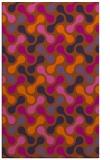 rug #692753 |  red-orange circles rug