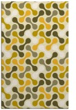 rug #692777 |  yellow circles rug