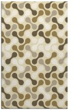 rug #692781 |  yellow circles rug