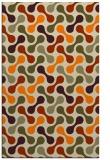 rug #692805 |  beige circles rug
