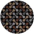 rug #692849   round black circles rug