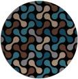 rug #692857   round black circles rug