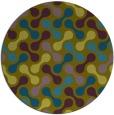 rug #692904 | round retro rug