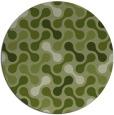 rug #692967 | round retro rug