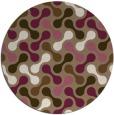 rug #692993 | round beige circles rug