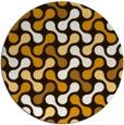 rug #693140 | round retro rug