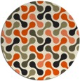 rug #693152 | round circles rug