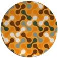 rug #693188 | round retro rug