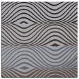 rug #695417 | square blue-violet retro rug