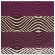 rug #695533 | square green retro rug
