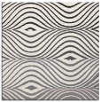 rug #695577 | square white abstract rug