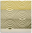 rug #695593 | square yellow abstract rug