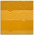 rug #695641 | square light-orange stripes rug