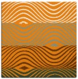 rug #695649 | square light-orange stripes rug