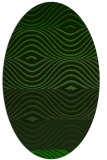 rug #695726 | oval stripes rug