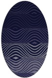 rug #695741 | oval blue-violet popular rug