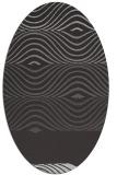 rug #695857 | oval stripes rug