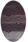 rug #695893 | oval stripes rug