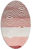 rug #695906   oval abstract rug
