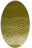 rug #695977 | oval light-green rug