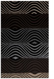 rug #696021 |  black stripes rug