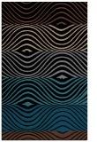 rug #696025 |  brown abstract rug