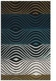 rug #696029 |  black abstract rug