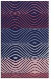 rug #696101 |  pink abstract rug