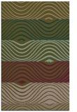 rug #696129 |  mid-brown retro rug