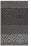 rug #696157 |  brown abstract rug