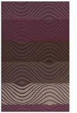 rug #696233 |  purple abstract rug