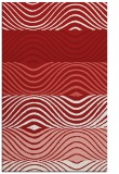rug #696257 |  red abstract rug