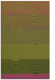 rug #696337 |  light-green stripes rug