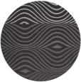 rug #696408 | round retro rug