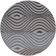 rug #696473 | round blue-violet retro rug