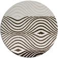 rug #696502 | round retro rug