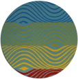 rug #696531 | round abstract rug
