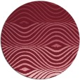 rug #696573 | round pink abstract rug