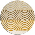 rug #696657 | round brown abstract rug
