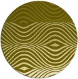 rug #696681 | round light-green abstract rug