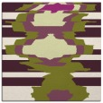 rug #697293   square purple abstract rug