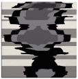 rug #697337 | square black abstract rug