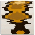 rug #697361 | square brown abstract rug