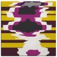 rug #697365 | square yellow rug