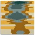 rug #697369 | square light-orange abstract rug