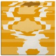 rug #697401 | square light-orange graphic rug