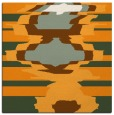 rug #697409 | square light-orange graphic rug